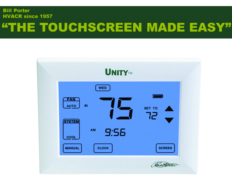 thermostat touch screen made easy